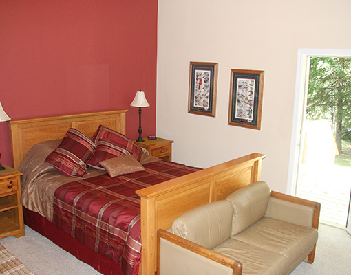 Sunset guest room - The LadySlipper Inn B&B