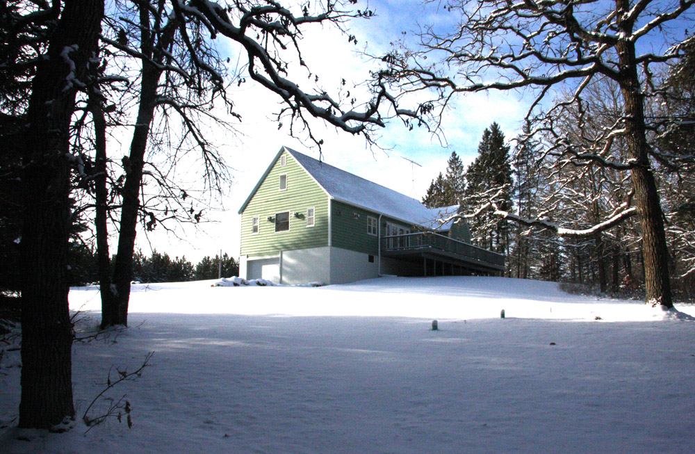 Winter at the LadySlipper Lodge & Retreat