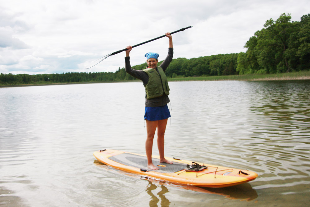 Paddleboarding - The LadySlipper Inn B&B