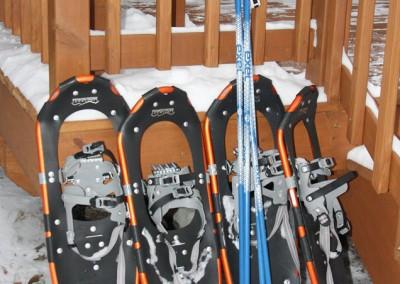 Snowshoes - The LadySlipper Inn B&B