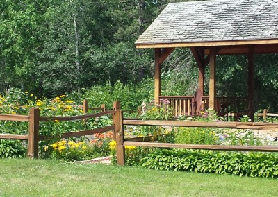 Garden gazebo - The LadySlipper Inn B&B