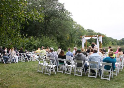 Wedding at the LadySlipper Inn B&B