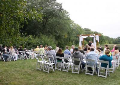 Wedding at The LadySlipper Inn B&B