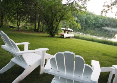Lake view - The LadySlipper Inn B&B