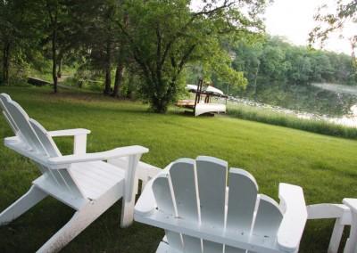 Lake view - The LadySlipper Inn B&B