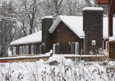 Winter view - The LadySlipper Inn B&B
